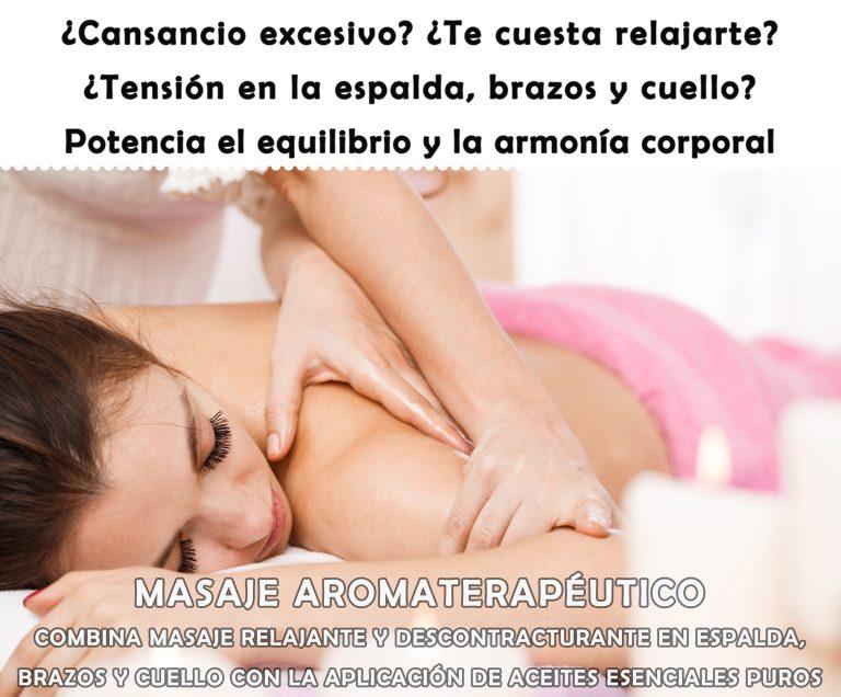 Masaje Aromaterapéutico, Priscila Méndez Segura