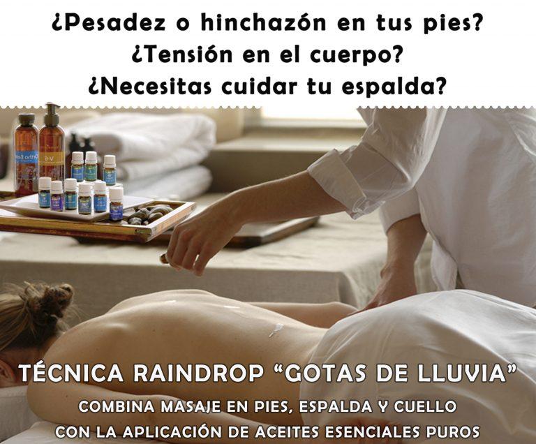 """Técnica raindrop """"Gotas de Lluvia"""" , Priscila Méndez Segura"""